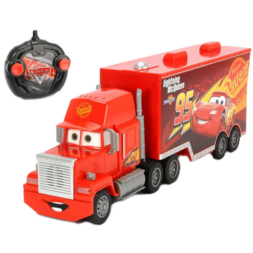 Camion Cars 3 Turbo Truck Mack cu Telecomanda, Dickie Toys