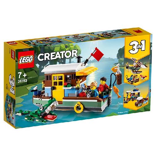 LEGO Creator Casuta din Barca 31093, LEGO