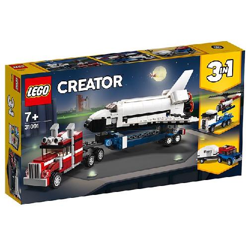 LEGO Creator Transportorul Navetei Spatiale 31091, LEGO