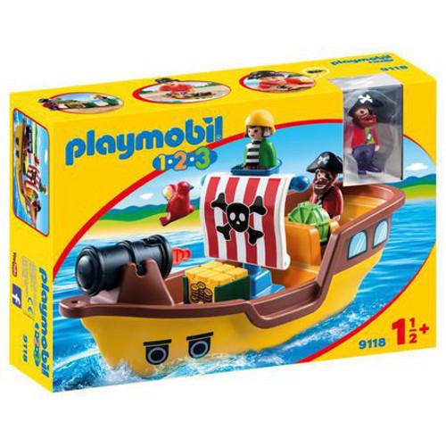 Set de Constructie Barca Piratilor, Playmobil