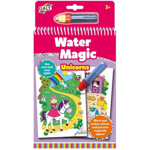 Carte de Colorat Water Magic Unicorni, Galt
