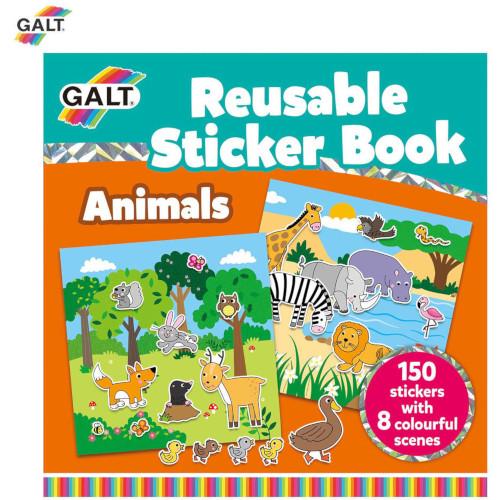 Cartea Mea cu Stickere - Animale, Galt
