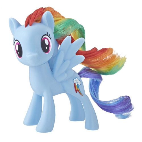 Figurina My Little Pony Cutie Mark Rainbow Dash, Colectia Classic, Hasbro