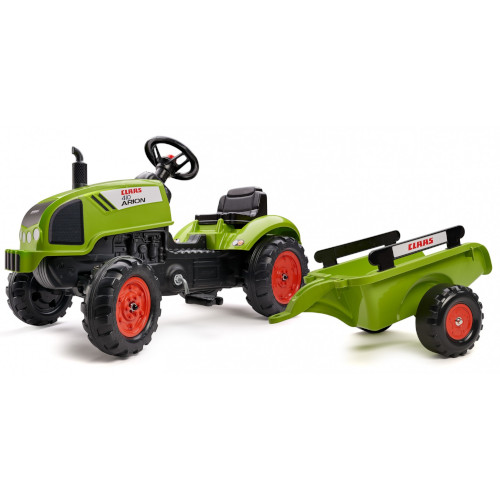 Tractor Claas Arion 410 cu Pedale si Remorca, Falk