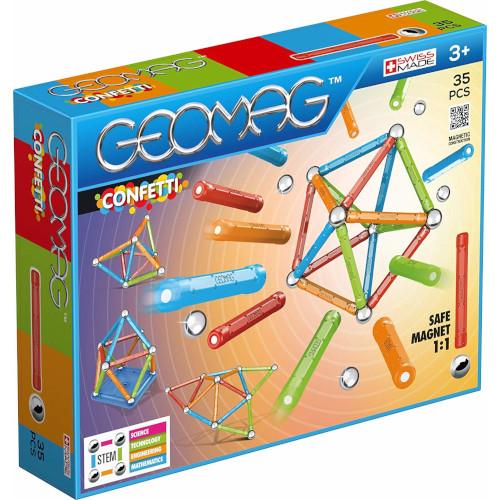 Set Constructie Magnetic Confetti 35, Geomag