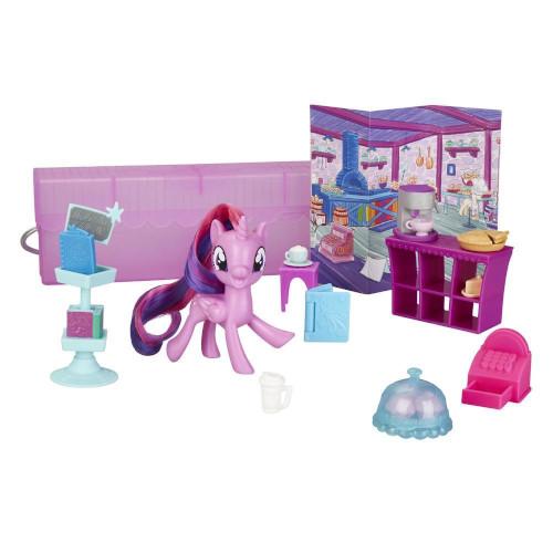 Set de Joaca My Little Pony On-the-Go - Poneiul Twilight Sparkle in Posetuta, Hasbro