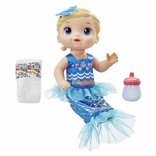 Papusa Bebelus Fetita Blonda Baby Alive Sirena, Hasbro