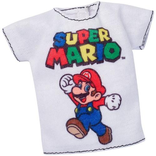 Tricou Super Mario Barbie Casual Fashion Pack, Mattel