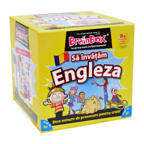 Joc Educativ BrainBox Sa Invatam Engleza, Ludicus Games