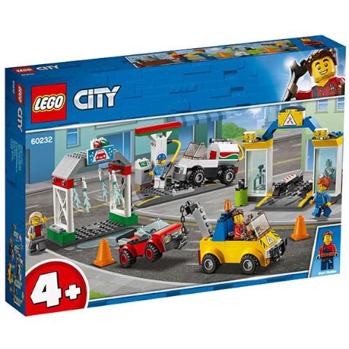 LEGO City Centrul de Garaje 60232, LEGO