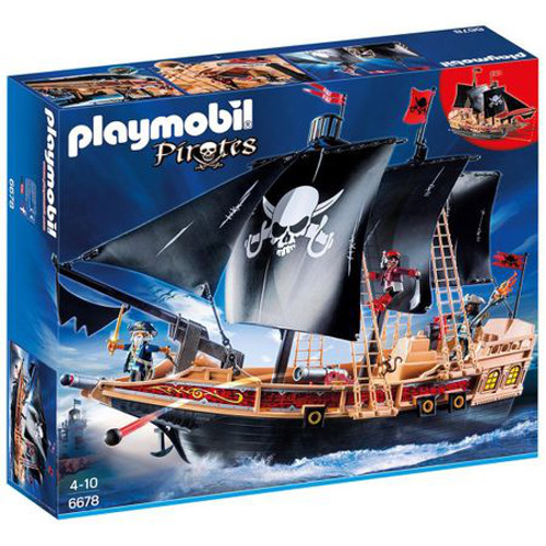 Set de Constructie Corabia Piratilor - Pirates, Playmobil