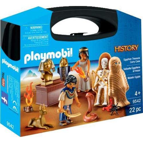Set de Constructie Portabil Egipteni cu Comoara, Playmobil