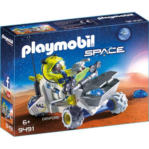 Set de Constructie Denford si Tricicleta Spatiala - Space, Playmobil