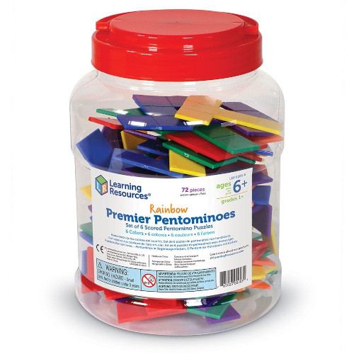 Set Forme Geometrice Pentomino, Learning Resources
