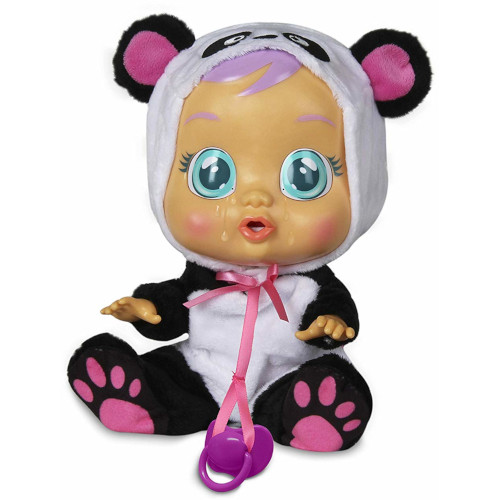 Jucarie Interactiva Cry Babies, Bebe Plangacios Pandy, IMC
