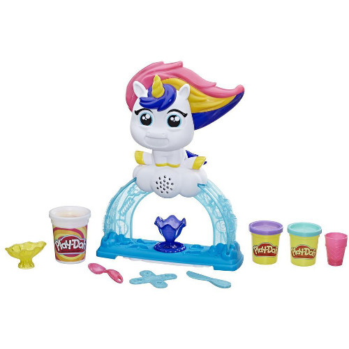 Set Play-Doh Unicornul Tootie cu Inghetata, Hasbro