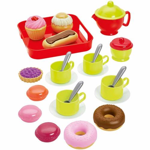 Set Ceai cu Mic Dejun si 26 de Accesorii Colectia 100% Chef, Ecoiffier