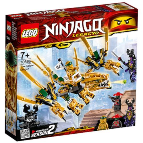 LEGO Ninjago Dragonul de Aur, Sezonul 2 70666, LEGO