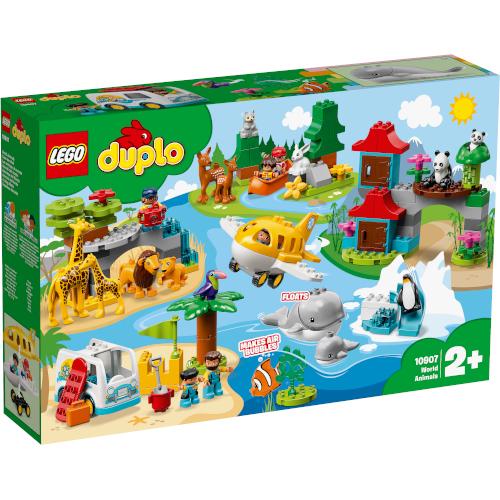 LEGO DUPLO Animalele Lumii 10907, LEGO