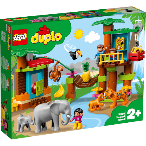 LEGO Duplo Insula Tropicala 10906, LEGO