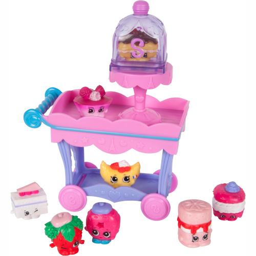 Set Minifigurine Dulciuri Asortate si Carucior Shopkins, Moose