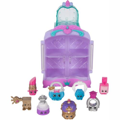 Set Minifigurine Bijuterii Pretioase cu Dulapior Shopkins, Moose