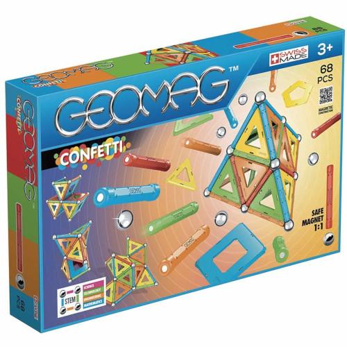 Set Constructie Magnetic Confetti 68, Geomag