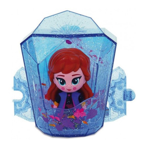Set Casuta cu Mini Figurina Anna Whisper and Glow Frozen 2, Giochi Preziosi