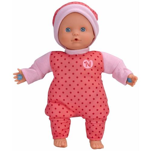 Papusa Bebelus Nenuco in Pijama Roz cu 3 Functii, Nenuco