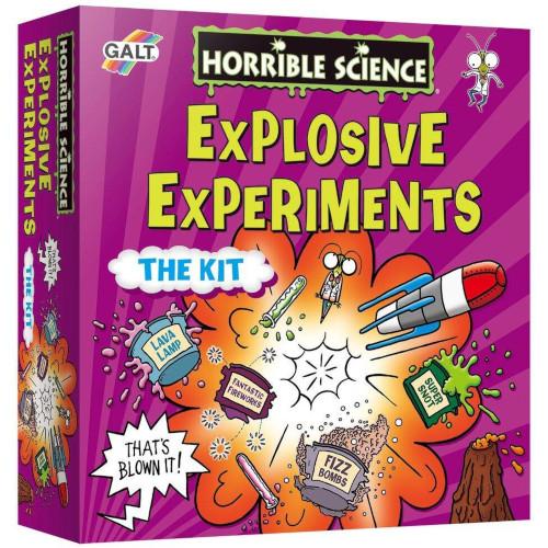 Explosive Experiments - Kit Experimente Explozive, Galt