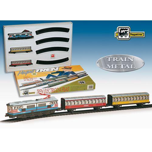 Trenulet Electric Colorat, Pequetren