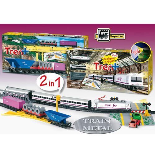 Trenulet Electric Renfe Tren+, Pequetren