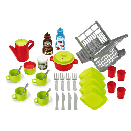 Accesorii Bucatarie Bubble Cook 43 Piese, Ecoiffier