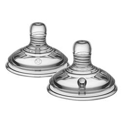 Tommee Tippee - Tetina Closer to Nature FLux Variabil 2 Bucati