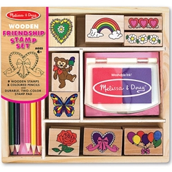 Melissa and Doug - Set de Stampile Prietenie