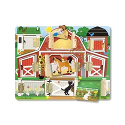 Melissa and Doug - Puzzle Magnetic Ascunde si Descopera