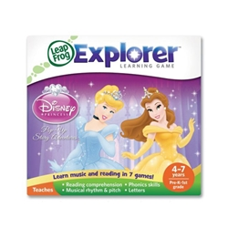 Leap Frog - Soft Educational LeapPad Printesele Disney