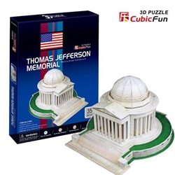 CubicFun - Puzzle 3D Thomas Jefferson Memorial