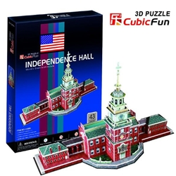 CubicFun - Puzzle 3D Independence Hall