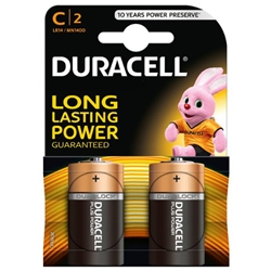 Duracell - Set 2 Baterii C Long Lasting Power