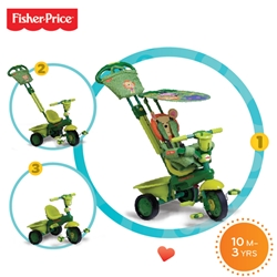 Fisher-Price - Tricicleta 3 in 1 Royal Verde