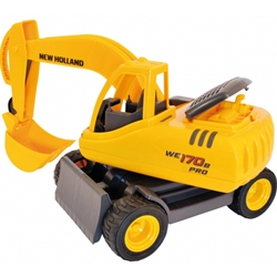 BigBoysToys - Macheta Excavator pe Senile New Holland WE170B PRO