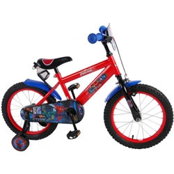 E and L Cycles - Bicicleta Spiderman 16 inch