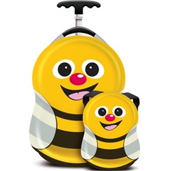 Cuties and Pals - Set Troler si Ghiozdan Cazbi the Bee