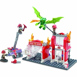 Hasbro - KRE-O Fire Station Dragon Attack