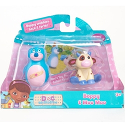 Disney - Figurine Boppy and Moo Moo