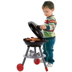 Ecoiffier - Set Barbecue Negru