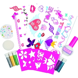 Galt - Glitter Tattoo - Kit Tatuaje cu Sclipici