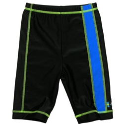 Swimpy - Pantaloni de Baie Blue Black 98-104