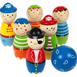 Bigjigs - Set Popice - Pirati